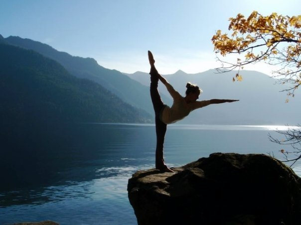 Yoga Nature Lake